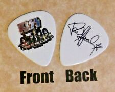 KISS - PAUL STANLEY band signature end of the road logo guitar pick -(w2)