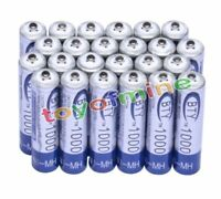 24x AAA 1000mAh 3A Ni-MH Rechargeable batteries 3A BTY Cell for MP3 RC Toys USA
