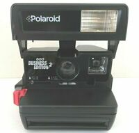 Polaroid 600 BUSINESS FILM INCLUSIVE N E W TESTED WORKING/ MANUAL/CASE GIFT!Z