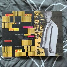 Stray Kids NEW Yellow Wood Album + CD + Felix second page (WITHOUT photocards)