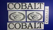 """Cobalt boat Emblem 20"""" black + FREE FAST delivery DHL express"""