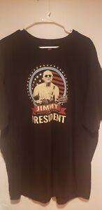 Jimmy Buffet for President Short Sleeve Men's T-Shirt 2XL