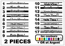 2x Stickers réservoir moto Scrambler / bobbers / café racer / 17 modèles