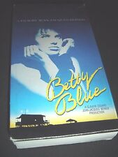 Betty Blue (VHS, Scarce 1987) Beatrice Dalle ~ French Subtitles
