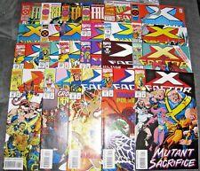 (O258) X-FACTOR (1986) comic book (LOT OF 23) # 94- 111, UNCANNY X-MEN