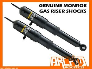 MONROE REAR AIR SHOCK ABSORBERS FOR NISSAN NAVARA D22 DX ST-R 4WD UTE