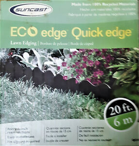 "Suncast ECO Edge Quick Edge 11ft long 22-6"" pieces In Box - New In Box"