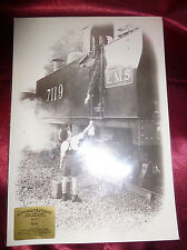 Country Lovers STEAM COLLECTION Photograph No31 Sam LMS 1930s Magic Lantern Gems
