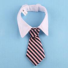 Cat Dog striped Tie Collar Pet Adjustable Neck Tie Necktie Party Wedding 2017