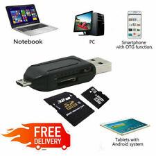 Memory Card Reader Micro USB OTG to USB 2.0 Adapter USB 2.0 SD/Micro SD Card
