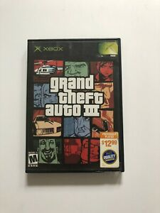 Grand Theft Auto III Original Xbox Blockbuster Exclusive Cover *FREE SHIPPING*
