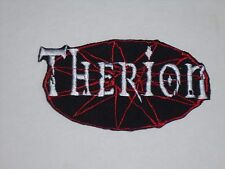 THERION IRON ON EMBROIDERED PATCH