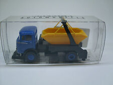 MB LP 328 AK azul/negro, Auto Modelo 1:87, H0 Brekina 48013