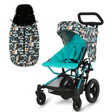 Micralite FastFold Stroller/Pushchair – Festival Special Edition with Footmuff