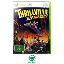 Thrillville Off The Rails (Xbox 360) Theme Park Sim - Simulation - PAL