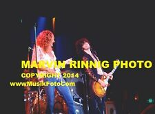 "Led Zeppelin Photo -Jimmy Page Robert Plant-1972 8x11"" Rare Photo-Sale -"
