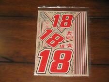 Autographics AG 170-18 Vintage Number NASCAR Interstate Gibbs Decal Sticker RC