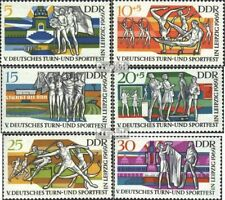 DDR 1483-1488 (complete.issue.) FDC 1969 German Gymnastics- and Sports Festival