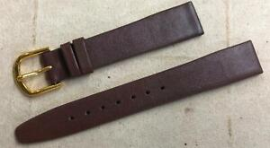 Speidel Genuine Leather Sport Calf Padded Watch Band Brown 16mm 18mm 19mm #890