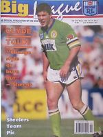 Big League Issue 15th-27th March 1994 Vol.75 No.2 Steelers poster