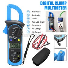 Digital Clamp Multimeter Amp Meter OHM  AC/DC Voltage Current Temp Test
