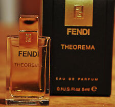 FENDI THEORAMA  by FENDI - 5ml EAU DE PARFUM MINI PERFUME BOXED RARE & STUNNING!
