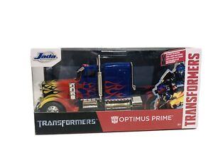 Jada Transformers Optimus Prime 1:24 Die Cast Scale New