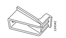 3x IKEA PAX 124342 Sliding Door Top Insert