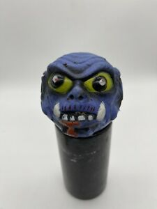 Vintage Bootleg Knock Off Madballs Toy Ball Taiwan Blue Manufacturer Unknown