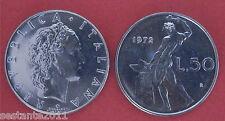 C21  ITALY  ITALIA REPUBBLICA ITALIANA   50 LIRE 1972   KM 95.1  FDC / UNC