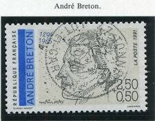 STAMP / TIMBRE FRANCE OBLITERE N° 2682 ANDRE BRETON