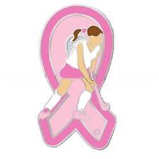 Breast Cancer Lapel Pin Girls Field Hockey Player Team Sports Awareness New