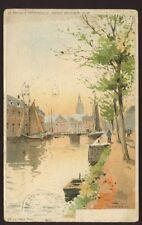 Belgium TERMONDE F Ranot artist drawn u/b PPC 1912