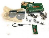 Vintage Singer Class 306 Sewing Machine Attachments in Original Box # 160977