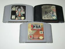 Nintendo 64 Lot of 3 Games - Tested