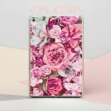 Floral Silicone Case For iPad 9.7 5 6 Gen Plastic Cover iPad Air 3 Pro 11 12.9