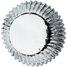 Wilton Cupcake Baking Cups, 24 pcs, Silver Foil Design, Muffin Liners Cases