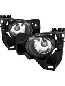 Spyder For Nissan Maxima 09-15 Fog Lights w/Switch Clear FL-NM2010-C (5038531)
