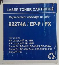 Premium Compatible Laser Toner Cartridge 92274A/EP-P/PX HP Laser and Canon