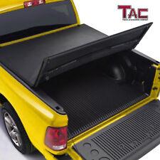 TAC Tonneau Cover Tri-Fold Fit 14-18 Chevy Silverado/GMC Sierra 6.5' Short Bed