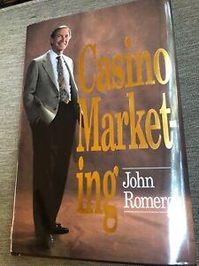 SIGNED Casino Marketing by John S. Romero (1994, Hardcover) autographed