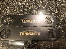2x Tennents Oak Aged Bottle Openers Pub Shed Bar Man Cave