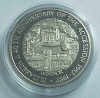 Turks & Caicos Islands - 1993 - 20 Crown Silver Proof Coin - WINDSOR