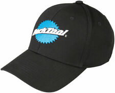 Park Tool HAT-9 Logotipo Clásico Gorra De Béisbol Negro azul y blanco con logotipo Sombrero Ajustable