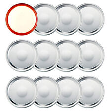 12 Pieces Replacement Ball Wide Mouth Mason Jar Lids,Wide Mouth Canning Lids