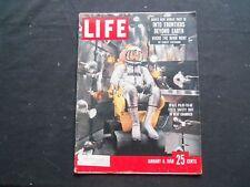 1958 JANUARY 6 LIFE MAGAZINE - SPACE PILOT SCOTT CROSSFIELD - L 1086