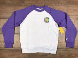 Vans x The Simpsons Lisa 4 Prez Pullover Sweatshirt WM SZ S ( VN0A4V4C17G ) NWT!