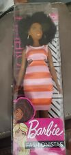 Rare Barbie Fashionistas AA Curvy Doll #105 with Afro NEW IN BOX 2018/2019