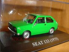 SEAT 133 GREEN 1975 1:43 MINT!!! INCLUDES BOX!!!!
