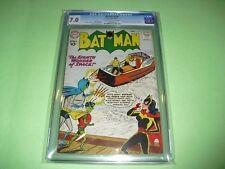 Batman #140 CGC 7.0 from 1960! Batwoman & Superman app DC Comics Not CBCS